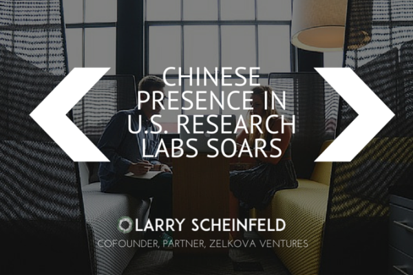 Chinese Presence In U.S. Research Labs Soars