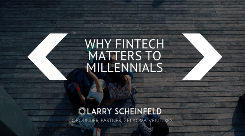 image of fintech and millenials
